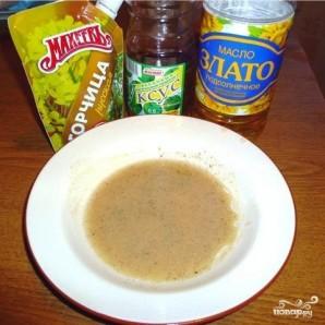 Салат с омлетом - фото шаг 1
