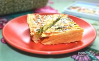 Пирог с фетой и шпинатом - фото шаг 12