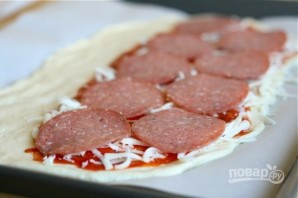 """Закрытая пицца """"Стромболи"""" - фото шаг 3"""
