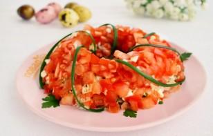 """Праздничный салат """"Пасхальный венок"""" - фото шаг 8"""