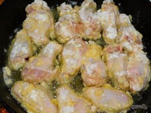 Куриные крылья с соевым соусом в хрустящем кляре - фото шаг 4