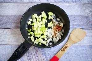 Фасоль с помидорами и цуккини - фото шаг 2