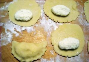 Песочное тесто с творожной начинкой - фото шаг 8