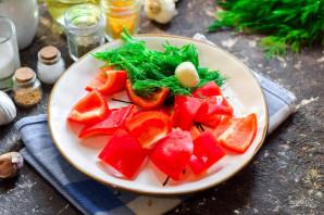 Быстрые помидоры по-корейски - фото шаг 2