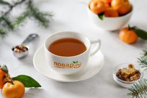 Мандариновый чай - фото шаг 6