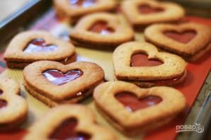 Печенье ко дню Святого Валентина - фото шаг 5
