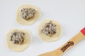 """Вареники с картофелем и грибами """"Самые любимые"""" - фото шаг 12"""