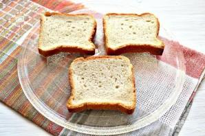 Горячие бутерброды с курицей и сыром - фото шаг 1