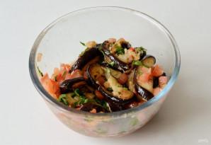 Острая закуска из баклажанов с помидорами - фото шаг 7