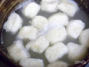 Ленивые творожно-рисовые вареники с сыром - фото шаг 4