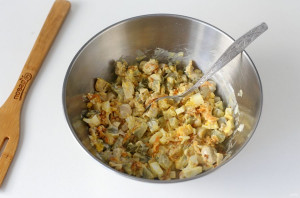 Машеровский салат с грибами - фото шаг 7