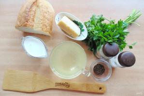 Сырный швейцарский суп - фото шаг 1