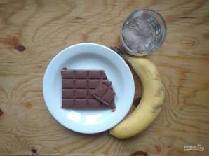 Шоколадно-банановые конфеты - фото шаг 1