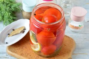 Маринованные помидоры с лимоном на зиму - фото шаг 5