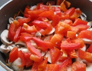 Курица с овощами в казане - фото шаг 2