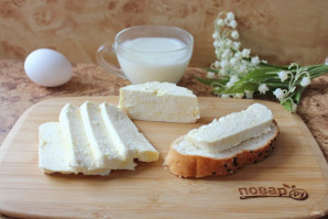 Домашний сыр из кефира и яиц - фото шаг 9