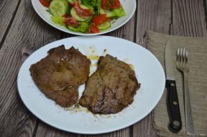 Шницель из мраморной говядины - фото шаг 9