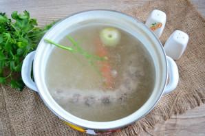 Овощной суп на мясном бульоне - фото шаг 3