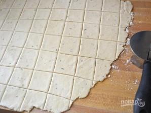 Домашние крекеры - фото шаг 7