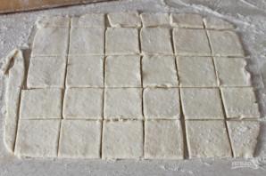 Творожное печенье с фруктами - фото шаг 6