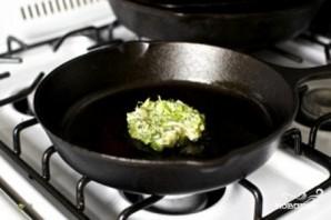 Оладьи из брокколи - фото шаг 3