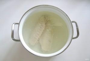 Суп из индейки с цветной капустой - фото шаг 1