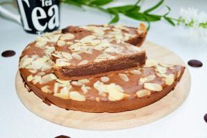 Шоколадный бисквит на кефире - фото шаг 8