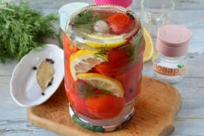 Маринованные помидоры с лимоном на зиму - фото шаг 7
