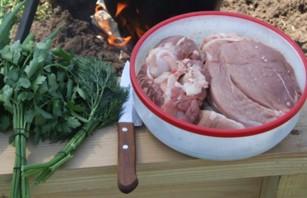 Шулюм из свинины - фото шаг 1