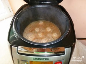 Суп с фрикадельками и рисом в мультиварке - фото шаг 4