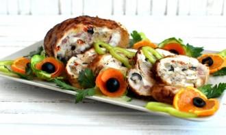 Фаршированная курица по-итальянски - фото шаг 7