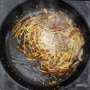 Лапша удон с говядиной и овощами - фото шаг 4