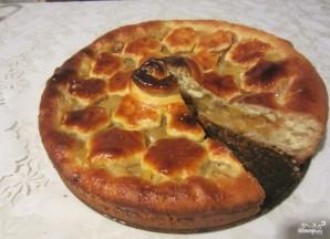 Дрожжевой яблочный пирог - фото шаг 4