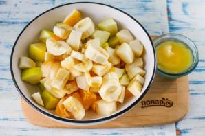 Фруктовый салат с йогуртом для детей - фото шаг 3