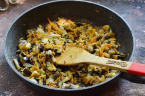 Овощное рагу с рисом и баклажанами - фото шаг 6