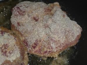 Ромштекс из говядины на сковороде - фото шаг 5