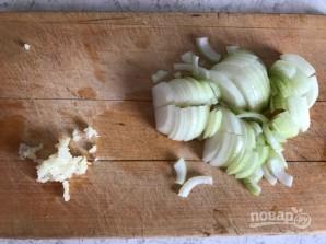 """Вегетарианская """"Болоньезе"""" с чечевицей и баклажаном - фото шаг 4"""