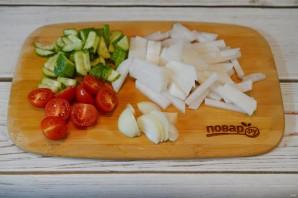 Андалузский салат - фото шаг 1