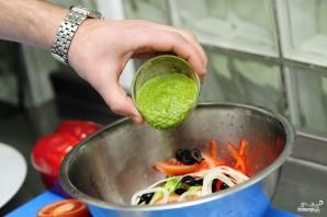 Салат из капусты брокколи - фото шаг 8