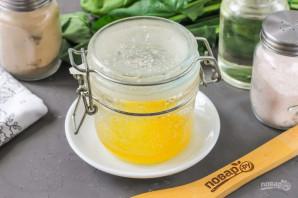 Клубничный салат с миндалем - фото шаг 5