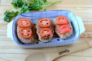 Котлеты под шубой с помидорами и сыром - фото шаг 5