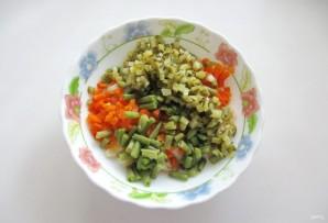 Винегрет с зеленой фасолью - фото шаг 4