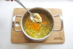 Суп из скумбрии с пшеном - фото шаг 11