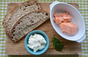 Закуска из семги и сыра - фото шаг 1