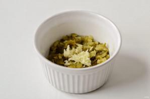 Соус из соленых огурцов и горчицы - фото шаг 3