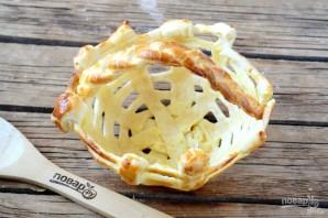 Съедобная корзинка для пасхальных яиц - фото шаг 7
