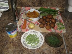 Суп грибной с лисичками - фото шаг 1