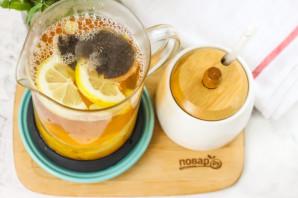 Апельсиновый чай с имбирем - фото шаг 5