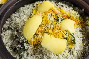 Рис с зеленью - фото шаг 5