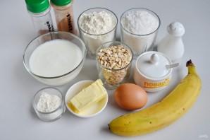 Кокосовое печенье с бананом - фото шаг 1